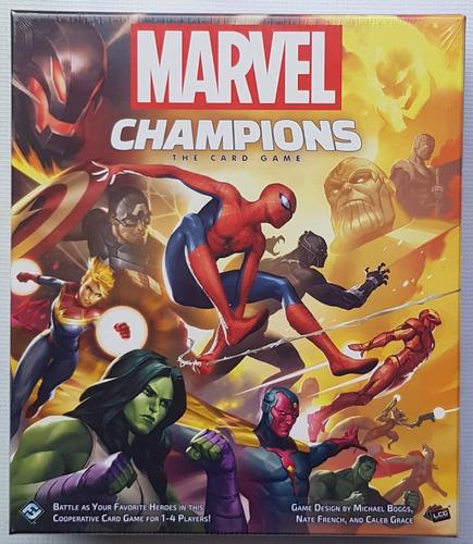 Marvel Champions Card Game Juego De Mesa / Boardgame Nuevo!!