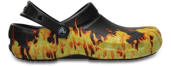 Zueco Crocs Bistro Fuego Zapato Cocina Unisex Youniformschef