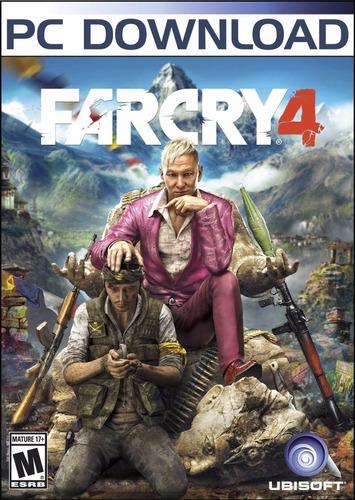 Far Cry 4 Farcry Juego Pc Original Cdkey + Español + Online