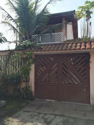 Sobrado Com Varanda, Vila Loty, Itanhaém . Ref. 4378 L C