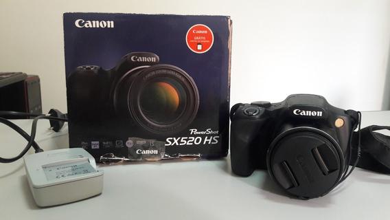 Maquina,camera Fotográfica Semi Profissional Canon Sx520
