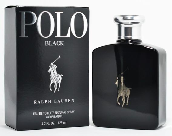 Perfume Polo Black 125ml Ralph Lauren - Original Lacrado