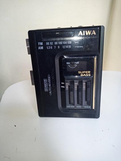 Walkman Aiwa J370 No Estado Ler Descricao