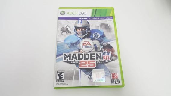 Jogo Madden Nfl 25 - Xbox 360 - Original - Mídia Física