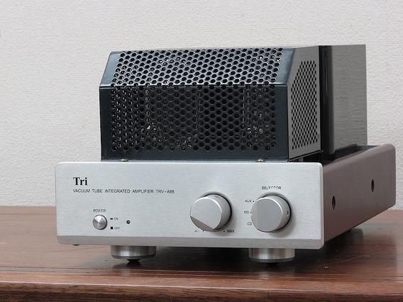 Amplificador Válvulado Integrado Triode - Trv-88 Com Caixas