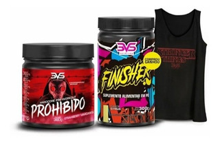 Combo Prohibido (360g) + Finisher (300g) - A Pronta Entrega