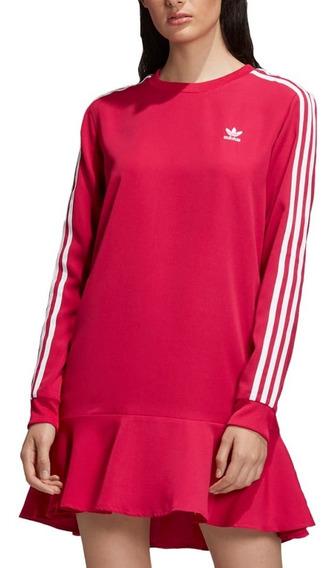 Vestido Playera Originals Pripnk Rosfie Mujer adidas Dv0856