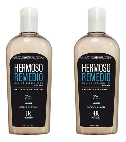 Imagen 1 de 10 de 2 Shampoo Crecimiento Anticaída Caspa Reparador Hombre 7en1