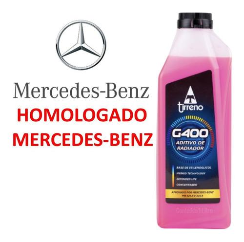 Imagem 1 de 8 de Tirreno G400 Rosa Concentrado Homologado Na Mercedes-benz