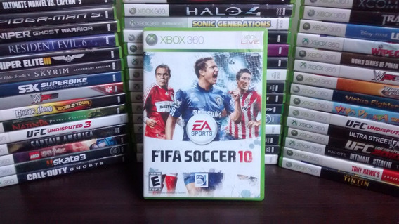 Fifa 10 - Xbox 360 - Original - Mídia Física Frete R$ 12.
