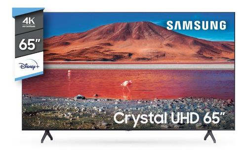 Imagen 1 de 6 de Smart Tv 4k Uhd Samsung 65  Un65tu7000g