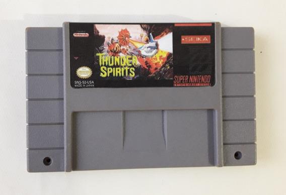 Cartucho Thunder Spirits Snes Super Nintendo Original