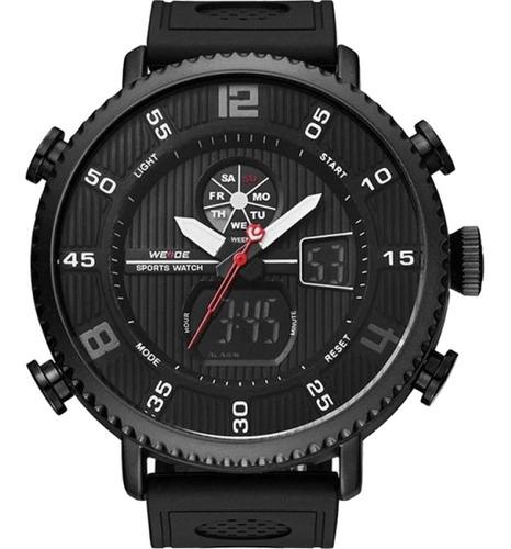 Relógio Masculino Weide Anadigi Preto 10466
