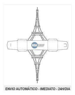 Arquivo Para Silhouette Caixa Torre Eiffel No Mercado Livre Brasil