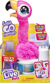 Flamingo Peluche Interactivo Come Canta Habla Comida Reutili