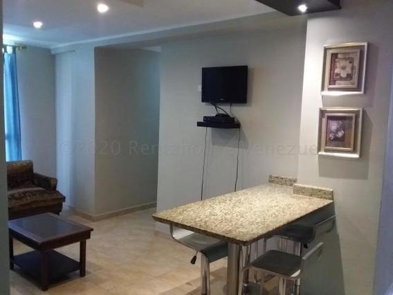 Apartamento En Alquiler Urb Villa Geica Maracay/ 21-1008 Wjo