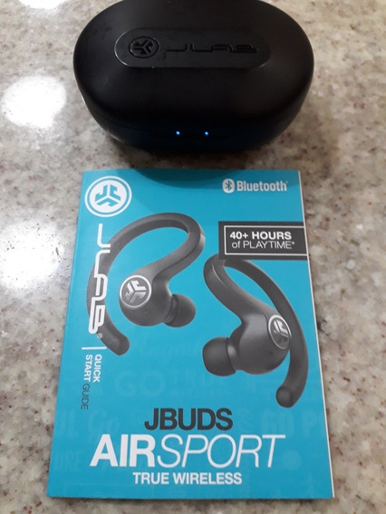 Fone Ouvido Bluetooth True Wireless Jlab Jbuds Airsport +40h
