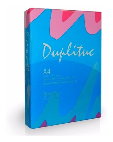 Duplituc - Resma A4 70grs | Consultar Envío Gratis