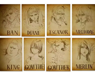 8 Nanatsu No Taizai Envio Grati The Seven Deadly Sins Wanted