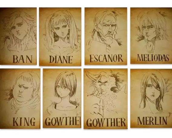 8 Nanatsu No Taizai Envio Grati The Seven Deadly Sins Wanted