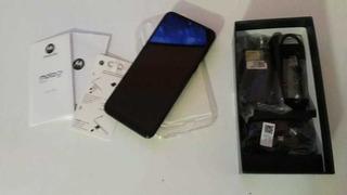 Moto G8 Plus Azul Safira