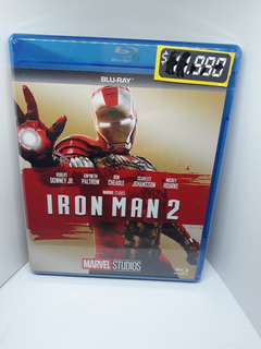 Iron Man 2 Pelicula Bluray Marvel