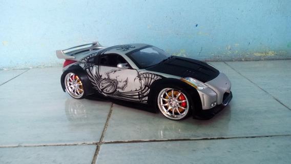 Nissan 350z Fast Furious De Coleccion Escala 1:21 ($70)