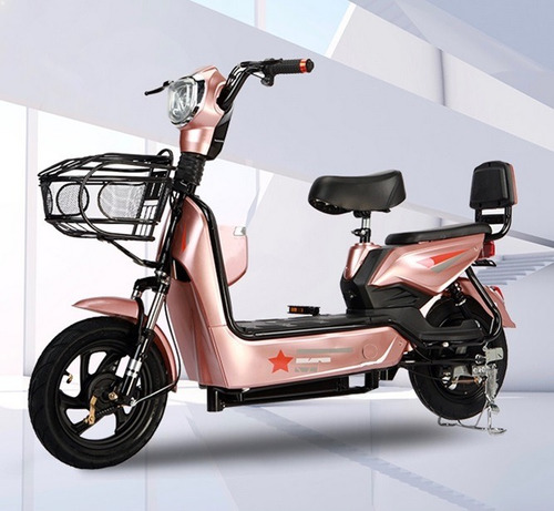 Scooter Moto Eléctrica 500w Doble Asiento - Mr Price