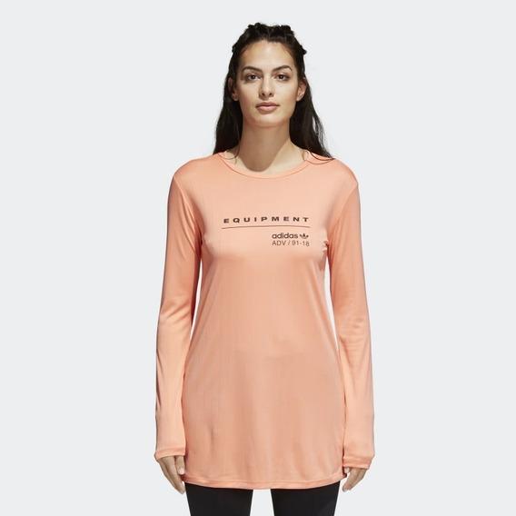 Remera Manga Larga Eqt Ls T-shirt Mujer