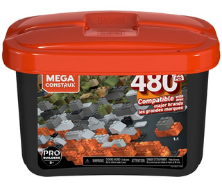 Mega Construx Mega Caja 480 Micro Bloques
