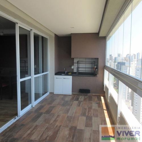 Imagem 1 de 15 de Apartamento Em Condominio Fechado No Panamby - Nm4688