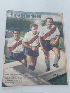 Revista La Cancha N° 890 Yacono Giudice River - Estudiantes
