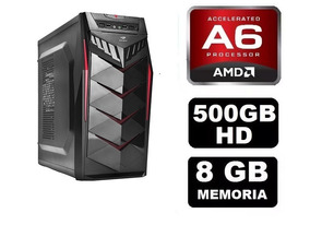 Pc Gamer Amd A6 7400k 8gb Ram + Brinde