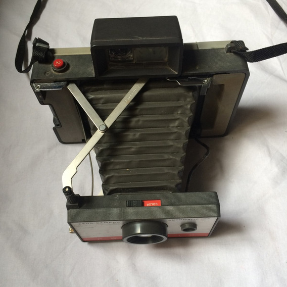 Máquina Fotográfica Polaroid Land Camera Automatic 104