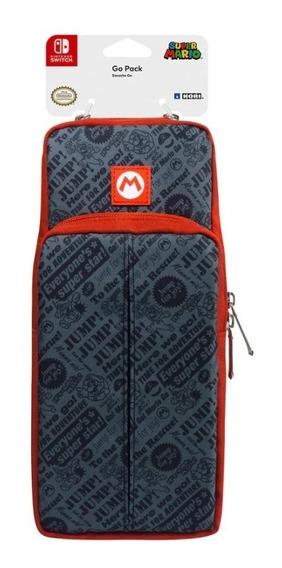 Case Nintendo Switch Mochila Go Pack Mario Hori