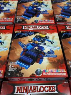 Lego Muñecos 12 Cajas Juguete Armable Mayoreo