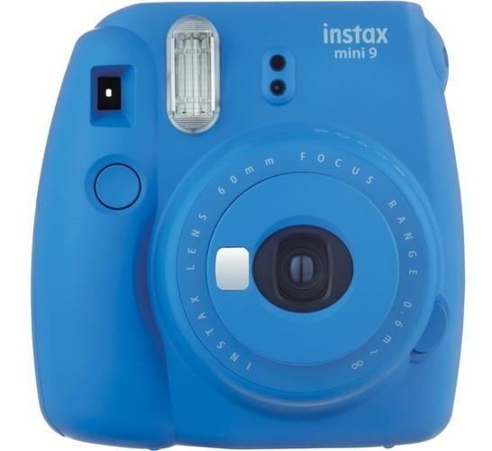 Câmera Instantânea Fujifilm Instax Mini 9 Azul 12x S/juros