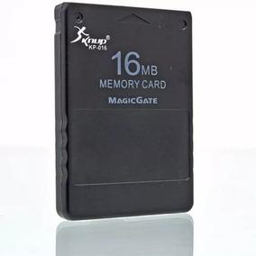 Memory Card 16 Mb Magicgate Para Playstation 2 Ps2