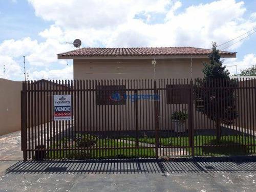 Casa Com 3 Dormitórios À Venda, 87 M² Por R$ 350.000,00 - Jardim Bela Itália - Londrina/pr - Ca0193