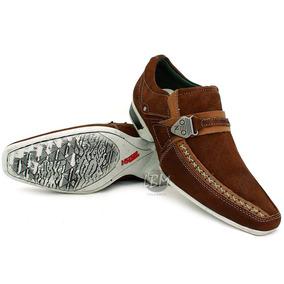 d811304b3 Sapato Esporte Fino Masculino Marrom Café Ref. 4401 Hoddi - Sapatos ...