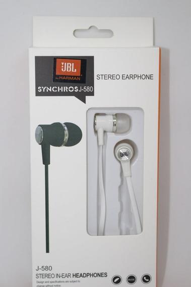 Fone De Ouvido Jbl Stereo Com Microfone