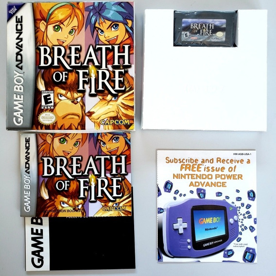 Breath Of Fire Original Cib Completa Gba Gameboy Advance