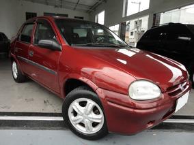Chevrolet Corsa 1.6 8v Sedan 1998 Vermelho