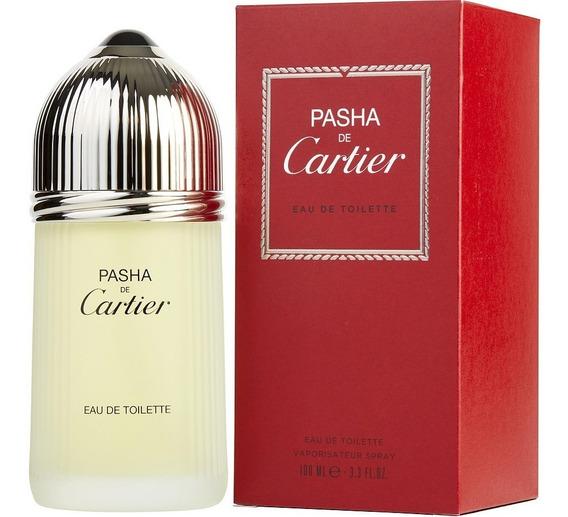 Perfume Masculino Pasha De Cartier Edt 100ml Original