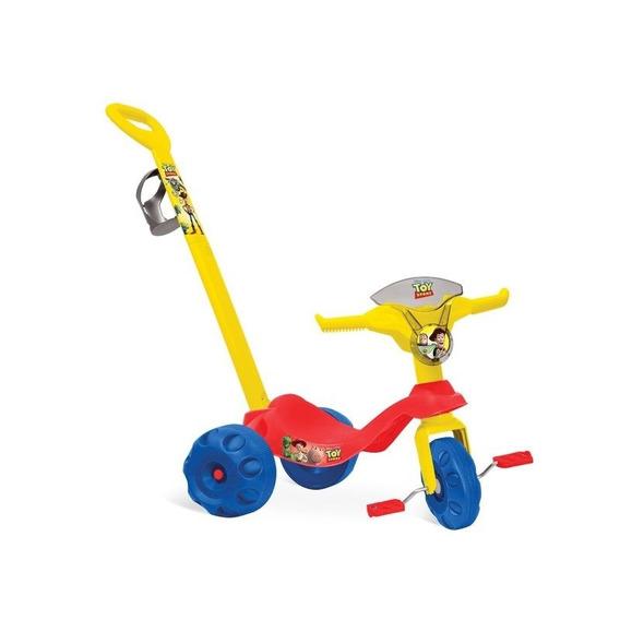 Triciclo Com Empurrador Toy Story