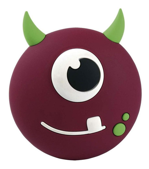 Caixa De Som Portátil Bluetooh 5w Rms Monster Boo Kids