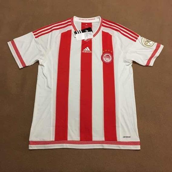 Camisa Olympiakos Home 2015/16 - adidas