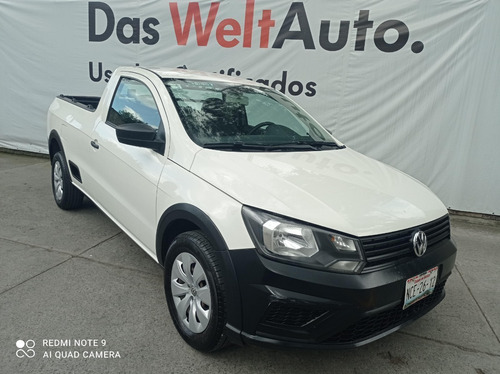 Imagen 1 de 15 de Volkswagen Saveiro Starline Std Blanca 2018 Unica