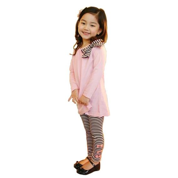 7 Moda Para Niñas Nuevo Moda Kids Girls Pinkset
