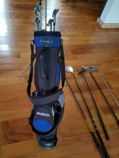 Bolsa De Golf Touredge Para Niño Con Palos Agregados Y Carro